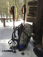 Snowshoeing kits for the Appalachian Trail - CT, USA (A Newbold) Tags: camping snow cold snowshoe outdoors connecticut massachusetts father son hike rye bearmountain trail scouts snowshoeing cubs appalachian patrol bsa fatherson boyscoutsofamerica at ryetroop2