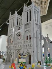 Caleb 2 (Saskatchewan Lego Users Group) Tags: show city castle acdc train layout model lego saskatoon pirate slug challenge gbc 2015