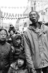 Year Of The Sheep - Chinatown (Pat Meagher) Tags: blackandwhite bw chinatown candid streetphotography documentary chinesenewyear streetcandid patmeagher paddym01