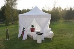 UPPE Quick Folding Tent met voile gordijnen (VIP Tent)