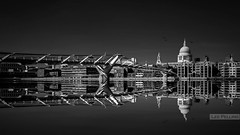 Millenium Bridge towards St Pauls (LeePellingPhotography.co.uk) Tags: bridge st thames river big focus stpauls millenium pauls filter lee embankment stopper gorillapod nd110