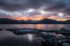 Loch Lomond Sunset (in_f0cus) Tags: greatbritain sunset lake see scotland europa europe sonnenuntergang lochlomond schottland grosbritanien