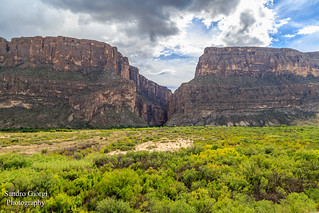 Santa Elena Canyon. Big Bend National Park
