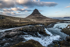 Mountain and water (AKAMASSI) Tags: light sky mountain nature water clouds canon landscape waterfall iceland holidays tamron dreamscape icelandic scandinavie pierremichel canon5dmarkiii kirkjuffel pierremichelphotography