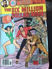 The Six Million Dollar Man (Jonathan C. Aguirre) Tags: man tv robots dollar million shows six the bionics