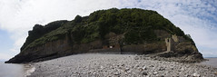23_07_2016_Panorama1 (andysuttonphotography) Tags: steep holm landing beach low tide panorama wide angle island bristol channel