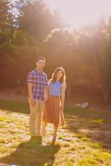 Leonard & Jennifer (photomav) Tags: canon5d canon5dmkii canon35l canon85l portraits engagement sanborncountypark sanborn saratoga