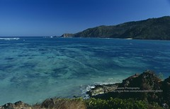 Lombok, Kuta beach (blauepics) Tags: indonesien indonesia indonesian indonesische lombok island kuta beach strand landscape landschaft water wasser sand meer sea blue blau