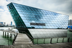 Louis Vuitton Island (Urban Pixel - I believe in Karma and Canon Cameras) Tags: louisvuitton urbanpixel shopping marinabaysands marinabay canon7dmk2 2015 singaporemarina singapore louisvuittonisland