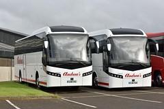 SJ16CVA  SJ16CUA (southlancs) Tags: andrews jonckheere volvos orkneybuses volvob11r