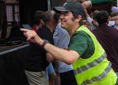 Yeah!! Let's Pary (Kimberley Hoyles) Tags: music fun dance funny dancing worker pointing havingfun nikond3200