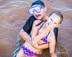 Got Ya (augphoto) Tags: augphotoimagery logan tori kids lake people swimming water waterloo southcarolina unitedstates