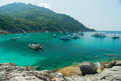 Racha Island-Patok Bay (eltonmaxim) Tags: travel seascape landscape thailand tour natural phuket rayaisland rachaisland