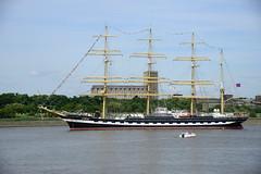 Tall Ships Race 2016 Skruzenstern DST_5248 (larry_antwerp) Tags: 2016 antwerp antwerpen       port        belgium belgi          schip ship vessel        schelde        sailing tallship tallshipsrace kruzenstern
