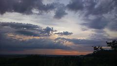 Countryside sunset (andr3ms) Tags: travel viaje sunset brazil sky naturaleza nature brasil clouds rural countryside nokia natureza cu prdosol cielo nubes viagem nuvens campo cerrado pantanal 930 lumia