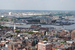 Mouth of the Charles River from Custom House Observation Deck (David Coviello) Tags: boston architecture buildings massachusetts customhouse