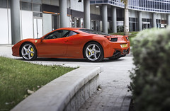 458. (Gal cho photography) Tags: world red italy color green cars car canon photography 50mm israel photo cool italia photographer super ferrari best special exotic gal photograph madness rare cho supercar 458 650d chobotaro