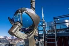 Campbell–Stokes Sunshine Recorder (Laurent Moose) Tags: salzburg sunshine kärnten observatory recorder stokes observatorium campell sonnblick hohersonnblick