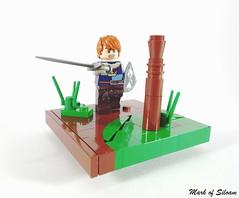At the Pels (Mark of Siloam) Tags: men castle iron lego mark myles siloam falworth