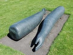 Detached Limbs (mikecogh) Tags: dublin arm leg museumofmodernart granite limbs detached janetmullarney