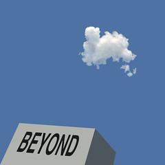Beyond No. 2 (lawroberts) Tags: new york city ciudad cit high life manhattan blue bleu azul cloud nueva nouveau nuevo nuage nube minimal minimalism minimalist minimale minimalisme minimalismo minimalista minimo minimaliste minimalismus mnimo