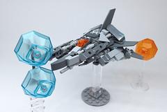 LEGO Nemesis VIC VIPER-18 (ToyForce 120) Tags: lego robot robots mecha mech mechanic legomech legomoc nemesis vicviper starfighter
