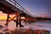 Bare Island – La Perouse (renatonovi1) Tags: bareisland laperouse sydney nsw australia bridge pier jetty sunset rocks sea