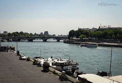 The Seine through Paris (eutouring) Tags: paris france riverseine river seine pont bridge pontdelaconcorde