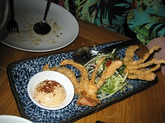 GAIJIN, HELSINKI, SOFT SHELL CRAB 004 (smtfhw) Tags: 2016 finland travel sightseeing helsinki food restaurants cooking gaijin dinners