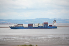 Philipp (Peter Owen) Tags: crosby blundellsands beach philipp container ship