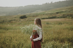 Nature (Alina Autumn) Tags: girl new nature natural tenderness vintage fragility flowers forest field blonde hands hand hair history harmony photographer photo light atmosphere melancholy russia art outdoor mood love color mountains people summer freedom
