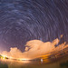 Perseid Meteor Shower and star trails - 2016