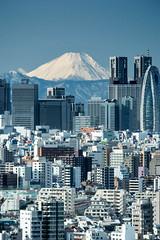 Fuji view from Tokyo (shinichiro*) Tags: 20160121dsc0063 2016 crazyshin nikon1v3 v3 1nikkorvr70300mmf4556     fuji tokyo japan  january winter