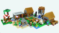 LEGO Minecraft Village (BRICK 101) Tags: lego minecraft