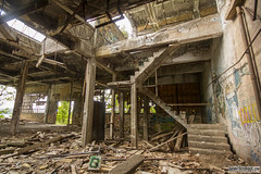 Abandoned Mining Building (Danno KaBlammo) Tags: urban exploration urbex danny bourque abandoned building factory dystopia condemned michigan torch lake yooper