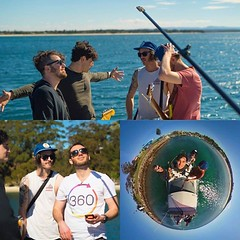 Here we are shooting one of the world's first tiny planet music videos- for this setup I used the Theta S attached to a 4 metre Manfrotto light stand- it hovered over the band playing on the deck of our boat completely undetected!  (LIFE in 360) Tags: lifein360 theta360 tinyplanet theta livingplanetapp tinyplanetbuff 360camera littleplanet stereographic rollworld tinyplanets tinyplanetspro photosphere 360panorama rollworldapp panorama360 ricohtheta360 smallplanet spherical thetas 360cam ricohthetas ricohtheta virtualreality 360photography tinyplanetfx 360photo 360video 360