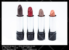 Several lipsticks (__Viledevil__) Tags: accessory beauty color cosmetic cosmetics fashion glamour lipstick lipsticks makeup object paint product red stick