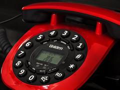 Rotary Push-Button Dialpad (hastuwi) Tags: macromondays stars telephone telephony telepon telpon dtmf rotary dial ivr autoattendant asterisk uniden redtelephone red