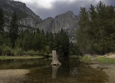 Looking to a Dry Yosemite Falls (dcnelson1898) Tags: yosemitenationalpark california sierranevadamountains sierranevada sierranevadas mountains nps granite glacier outdoors valley yosemitevalley