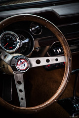 Drive (man_fit) Tags: shelby gt gt350 car volant drive vintage steeringwheel wheel nikon d3 nikond3 collection auto voiture