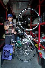Bring Your Bike to Work Day (Sean Davis) Tags: breezy cameratruck memphis milliondollarquartet raleigh bicycle bike