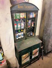 Royal Snowdrift (R~P~M) Tags: royalsnowdrift oil cabinet cupboard garage aylesbury bucks buckinghamshire england uk unitedkingdom greatbritain