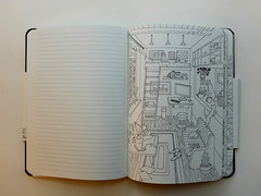 coloring notebook - 4 (niftynotebook) Tags: notebook coloringbook coloring moleskine coloringnotebook