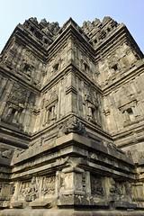Shiva Temple details (A. Wee) Tags: yogyakarta prambanan indonesia  unesco world heritage temple mural shiva