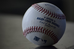 MLB Ball (maui photographer) Tags: mlb ball baseball base major league field nlcs game 4 game4 wrigley wrigleyville chicago cubs batting practice new york mets newyork sports marques baclig mauiphotographer nikon d33 d3300 dslr nikonproject366