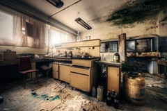 (satanclause) Tags: abandoned mine lab oputn dl laborato hdr urbex industry czech