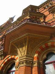 St Pancras Hotel detail (Dun.can) Tags: stpancrashotel victorian georgegilbertscott london nw1 hotel architecture