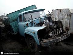 1992 ZIL 441510 /  441510 (junkyardcollection) Tags: junkyard zil zil441510 truck russiantruck  441510  abandoned abandonedtruck rust rusty rustytruck junkyardcollection