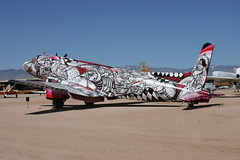 Time Flies By by Now and Nosm (Retro Jets) Tags: c117 usn pima artwork nowandnosm