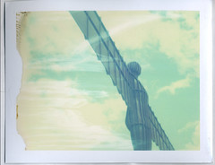 Angel of the North (GemR97) Tags: polaroid instant analogue landcamera 669 polaweek roidweek angel